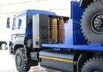 Новый зерновоз на шасси УРАЛ-NEXT