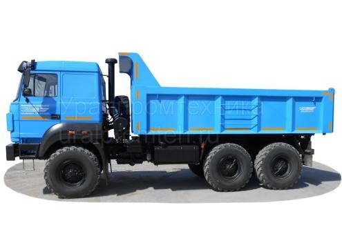 Самосвал Урал 55571 с увеличенным кузовом (58312G)