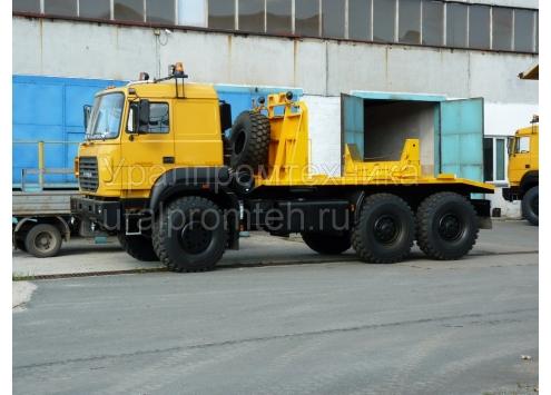 Тягач трубоплетевозный Урал-6370 (690222)