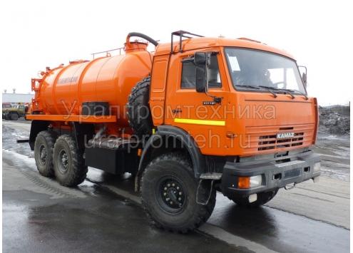 АКН 10 Нефтесборщик Камаз 43118