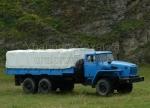Бортовой автомобиль Урал 4320 тентованный 6х6