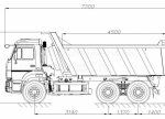 Купить самосвал КамАЗ 65115, 15 тонн (58311E)