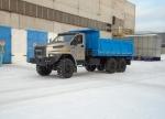 Самосвал Урал-NEXT с трехсторонним кузовом