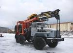 Купить лесовоз Урал 4320 с манипулятором