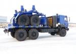 Урал с газовым двигателем - трубоплетевоз (59605B)
