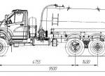 Машина вакуумная МВ-10 66034P (шасси Урал-NEXT)