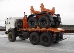 Новый трубоплетевоз МАЗ 6317Х5 с прицепом роспуском