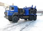 Купить трубоплетевоз с газовым двигателем Урал-6370