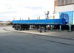 Новый полуприцеп бортовой 27 тонн