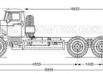 Шасси Урал 4320-1912-60