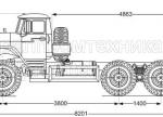 Шасси Урал 5557-1112-60
