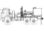 Цементировочный агрегат УНБ 160х32 (59011A) КамАЗ 43118