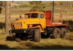 Лесовозный автопоезд Урал 4320