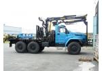 Лесовозный тягач с гидроманипулятором Урал-NEXT