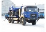 Тягач трубоплетевозный Урал-4320 газомоторный (59605B)