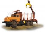 Сортиментовозный тягач с манипулятором Урал (модель 690213)