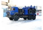 Тягач трубоплетевозный Урал-6370 газомоторный (6902G2)