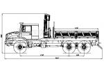 Бортовой автомобиль с КМУ Zetros 6x6