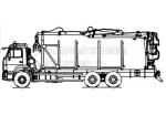 Сортиментовоз с гидроманипулятором на шасси КамАЗ 65115 (59601F)